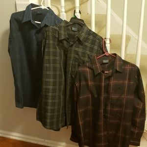 Men's Collared Long-Sleeve Shirts